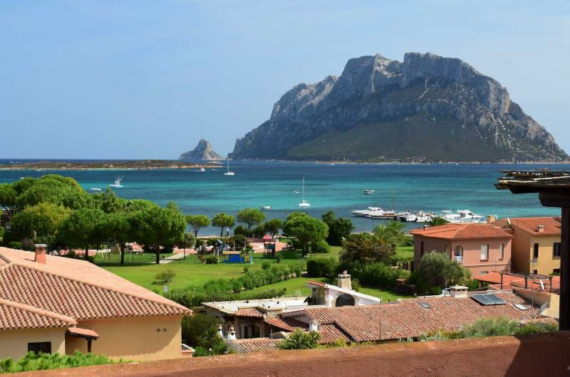 Porto San Paolo, residence Vecchio Faro, exclusive penthouse by the sea with large panoramic terrace
