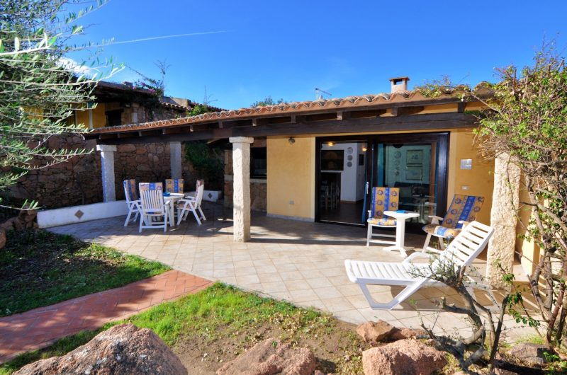 Porto San Paolo, Monte Contros hill, part of a two families villa with panoramic view to the sea