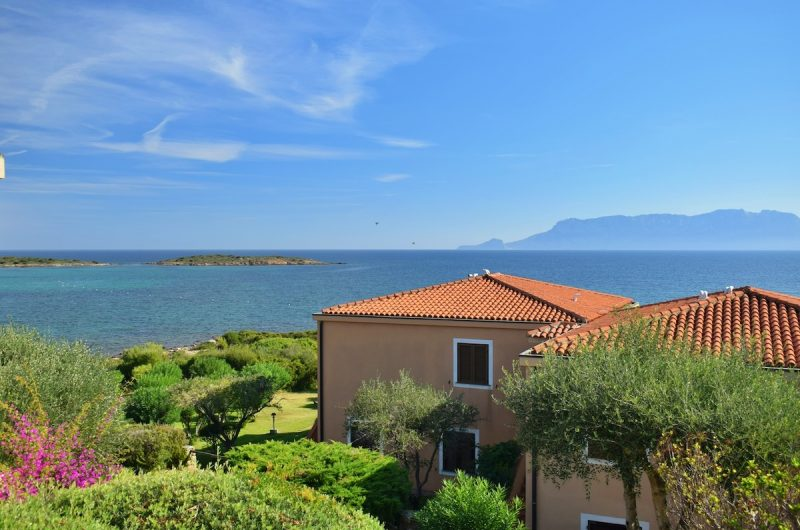 Golfo Aranci Punta Bados by the sea reserved apartment overlooking the sea