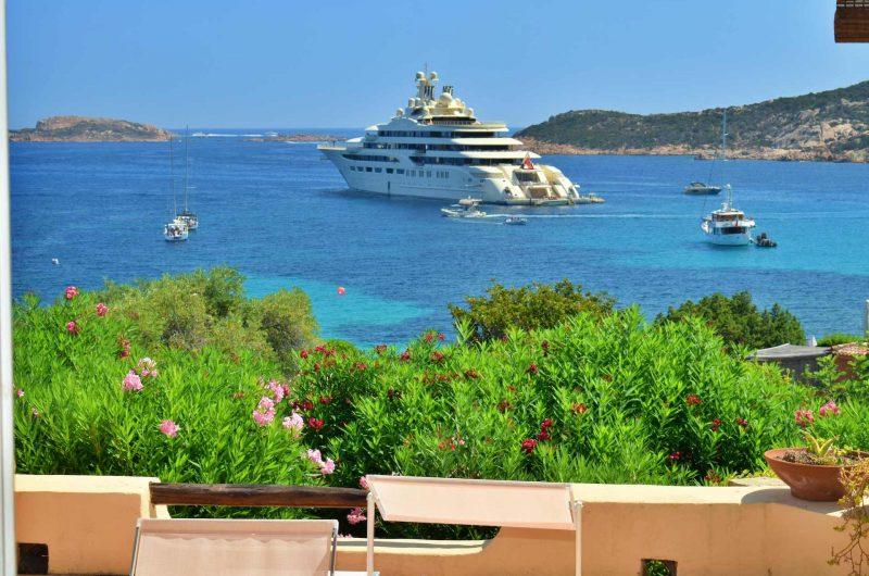 Costa Smeralda beach Piccolo Pevero small villa with panoramic terrace