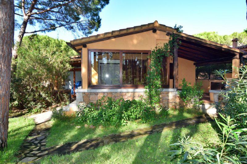San Teodoro Capo Coda Cavallo Le Farfalle cottage with garden